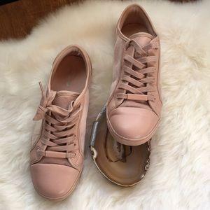 Blush pink ALDO sneakers